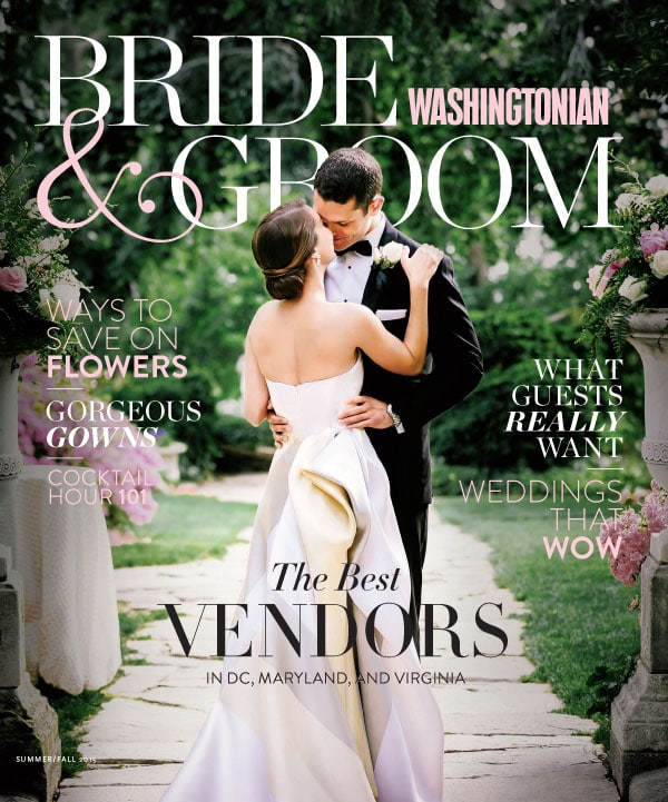 Laura Cannon Washingtonian Bride & Groom