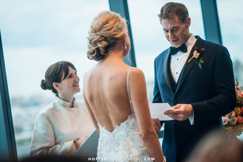Rev. Laura Featured in Baltimore Bride