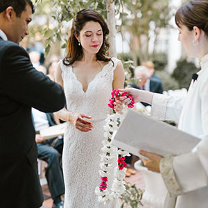 Hindu Christian Interfaith Wedding Ceremony by Laura Cannon