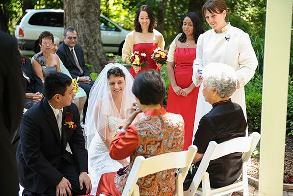 Korean Multicultural Wedding Tea Ceremony by Rev. Laura Cannon